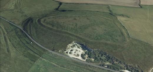 Chalbury Camp Hillfort, Dorset.