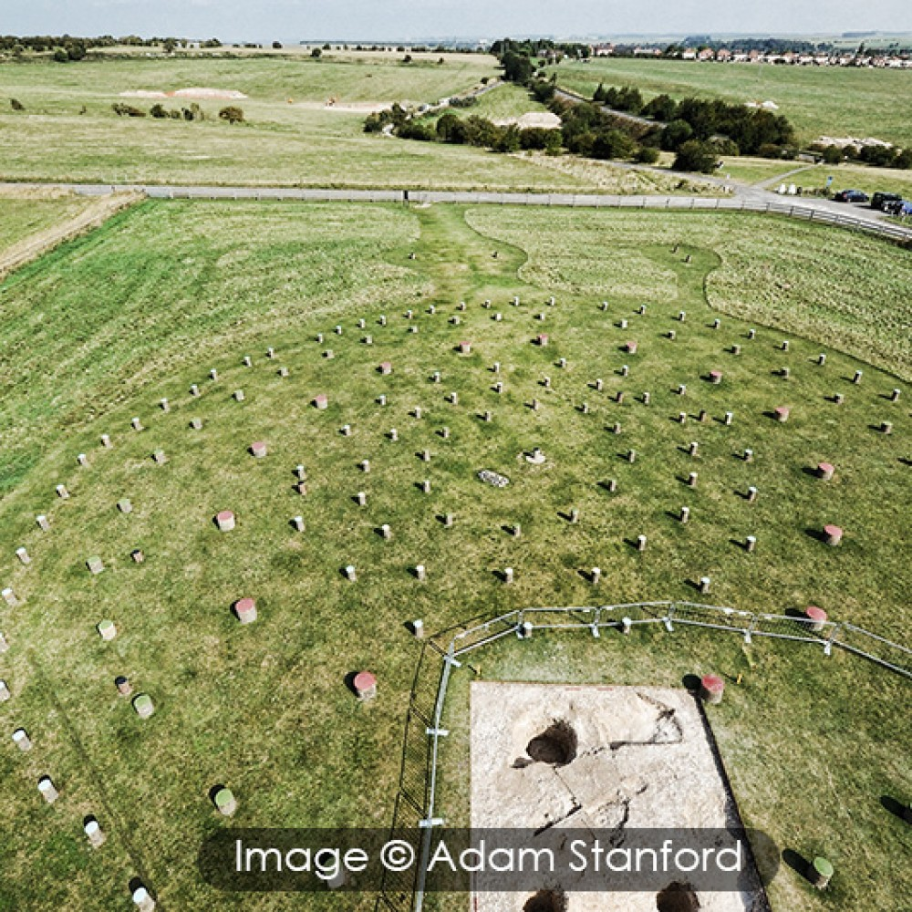 Woodhenge - © Adam Stanford