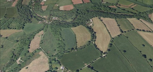 Blackers Hillfort, Chilcompton, Somerset.