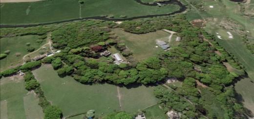 Dudsbury Camp Hillfort, Dorset.