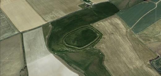 Lidington Castle Hillfort, Wiltshire