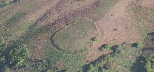 Trendle Ring Hillfort, Bicknoller, Somerset