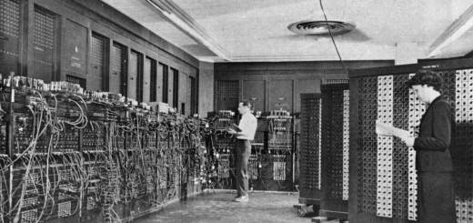 ENIAC (Electronic Numerical Integrator And Computer) in Philadelphia, Pennsylvania