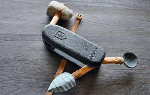 Prehistoric Swiss Army Knife by Jay Mug